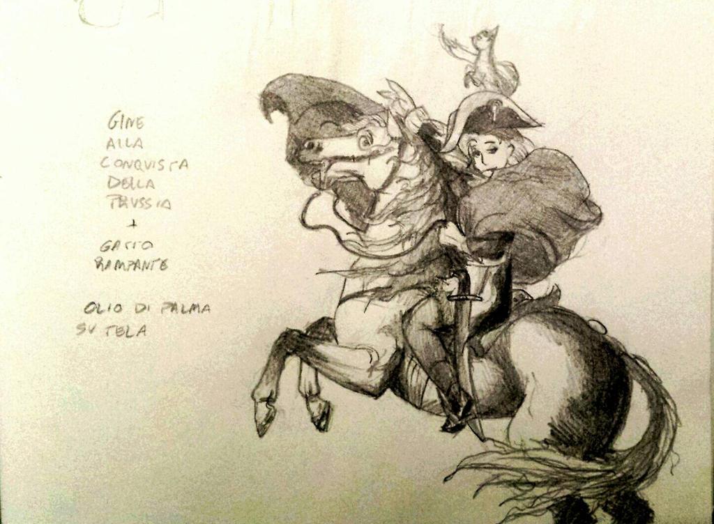 Ginevra Bonaparte by eddinsmarrone
