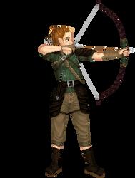 Elizabeth Ardqueen, half-elf rogue