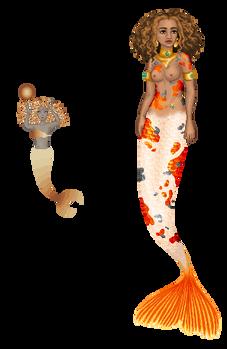 Mermaid glow-up