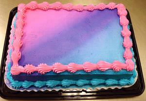 Bi Colors Cake