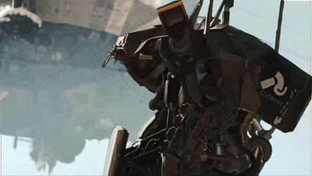 District 9 Mech by QuantumSushi