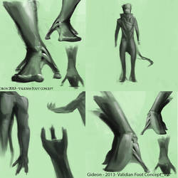 Alien Anatomy Concepts (2013) by QuantumSushi