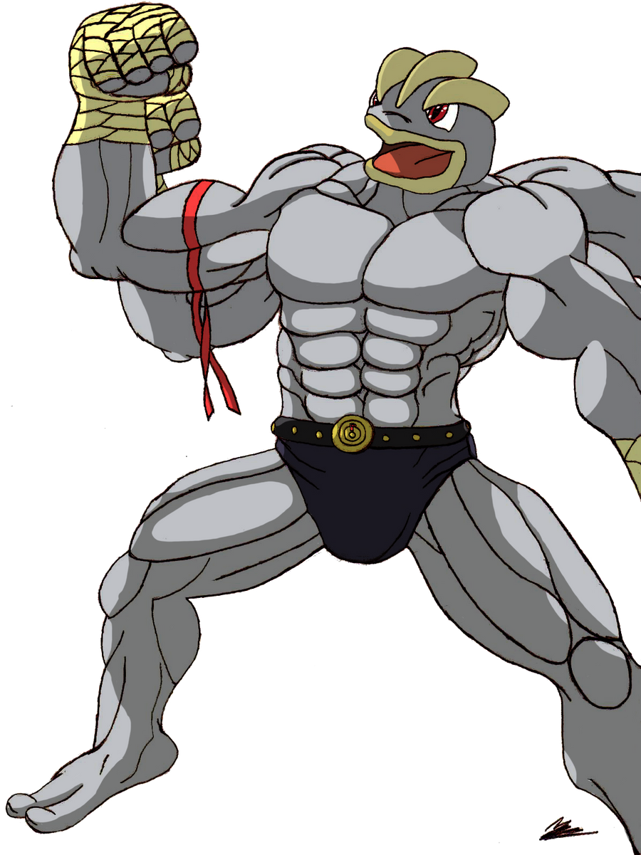 machamp muscle Gallery