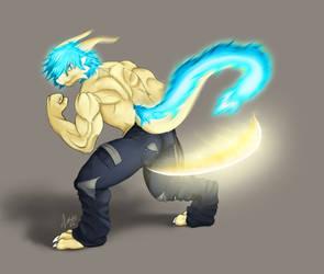 Light Slash shirtless