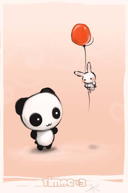 Panda by timo-timoe