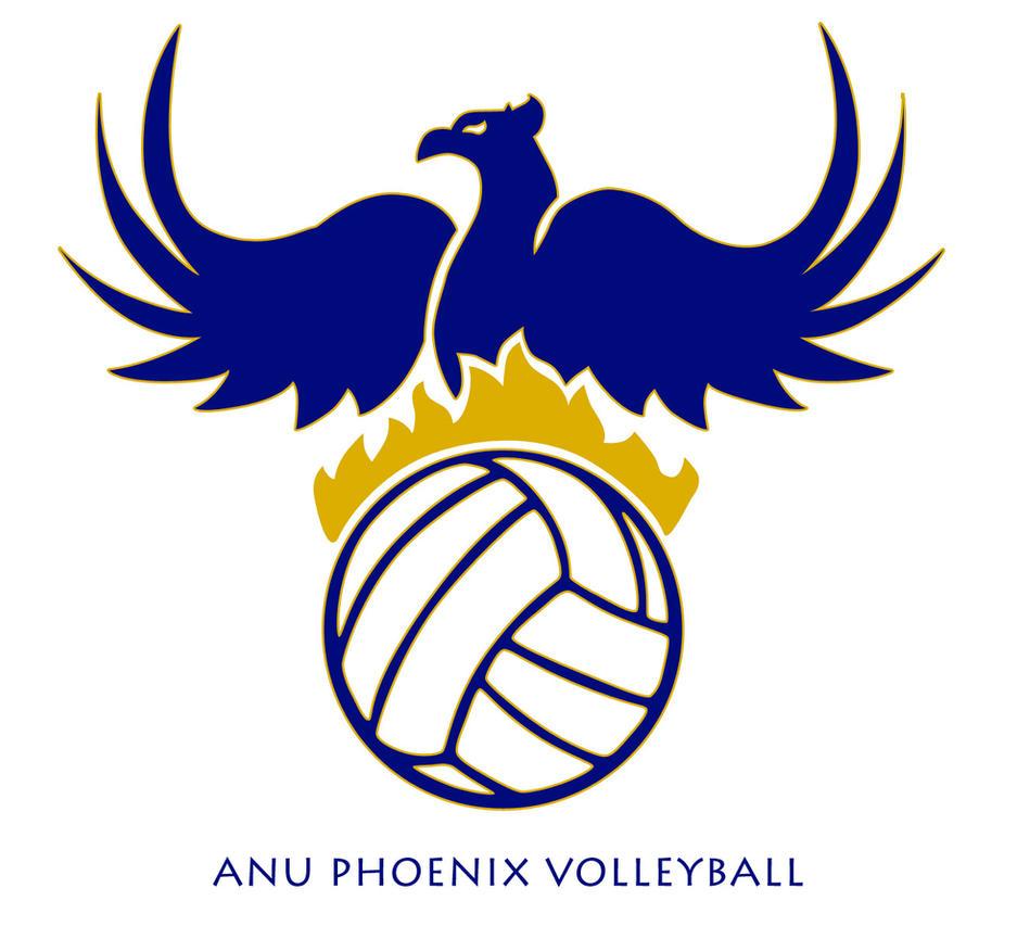 Anu Phoenix Volleyball Logo By Mr Shui On Deviantart