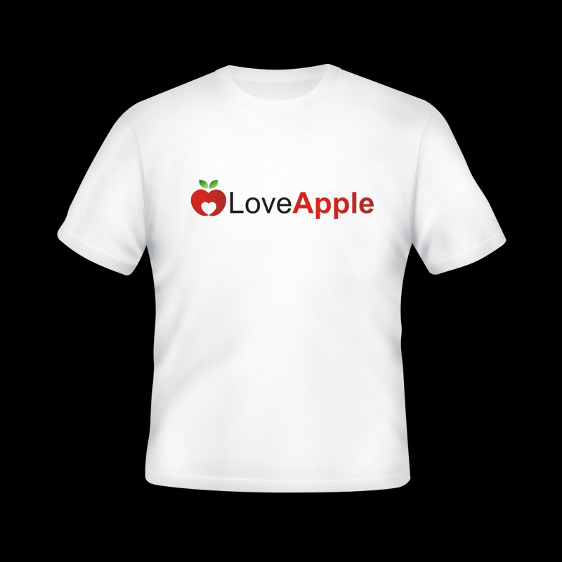 T Shirt Design Love Apple By Multimagezine On Deviantart