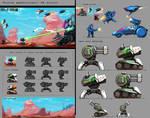 2D-action mockup concept