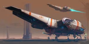 Spaceship 101 by ksenolog