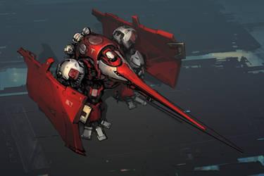 Swordfish T-Type by ksenolog