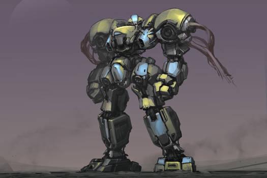 robot sketch 52