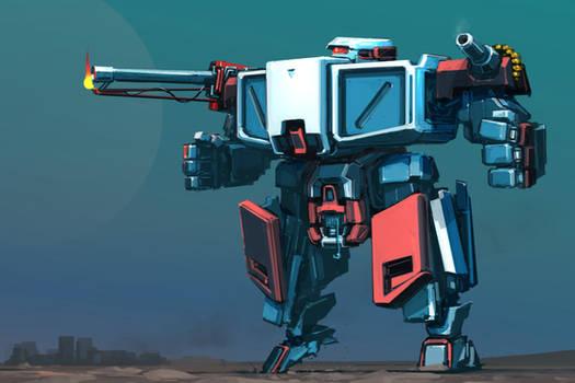 robot sketch 119