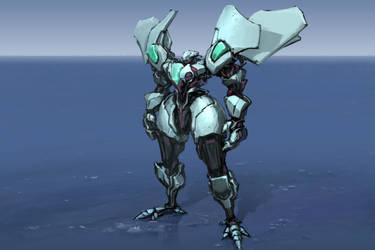 robot sketch 143