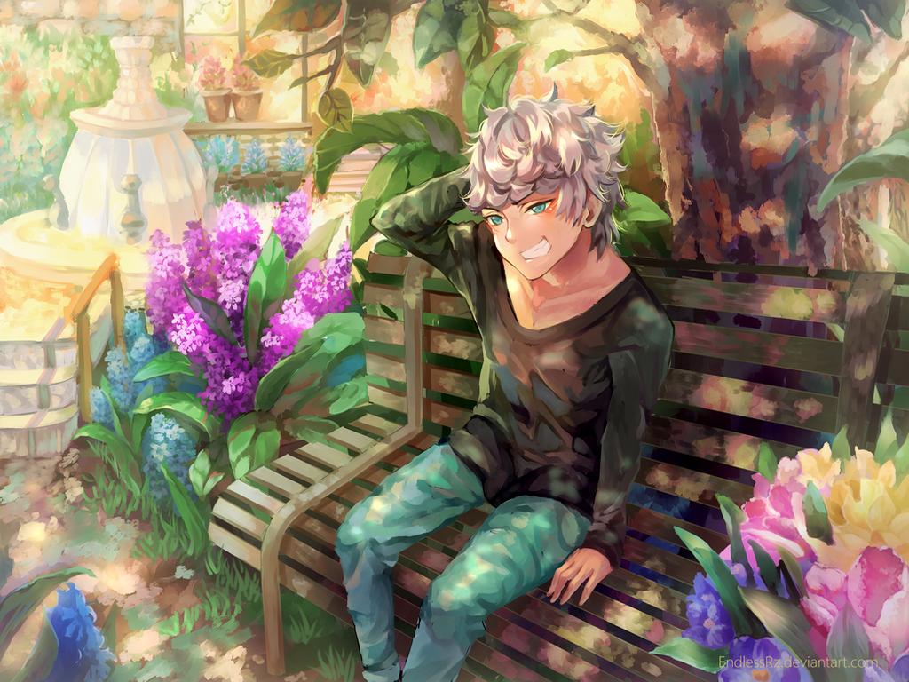 Backyard garden by EndlessRz