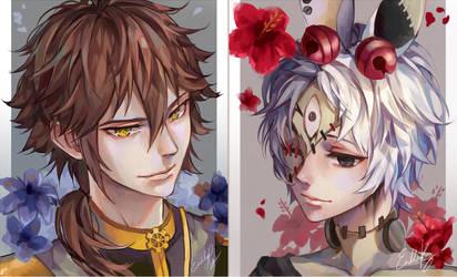 Arthur and Alphonse by EndlessRz