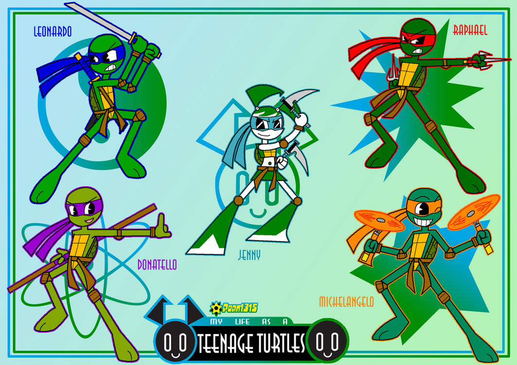 My Life As A Teenage Turtles by Porn1315