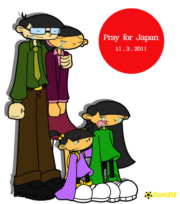 KND: Pray for Japan by RoseMary1315 on DeviantArt