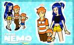 Finding Nemo: Marlin x Dory n' Nemo