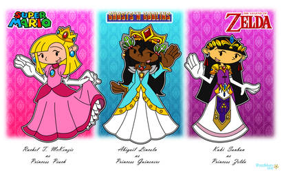 KND Girls: The Legend of 80's Princesses by RoseMary1315
