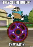 KND Meme: They see me rollin'