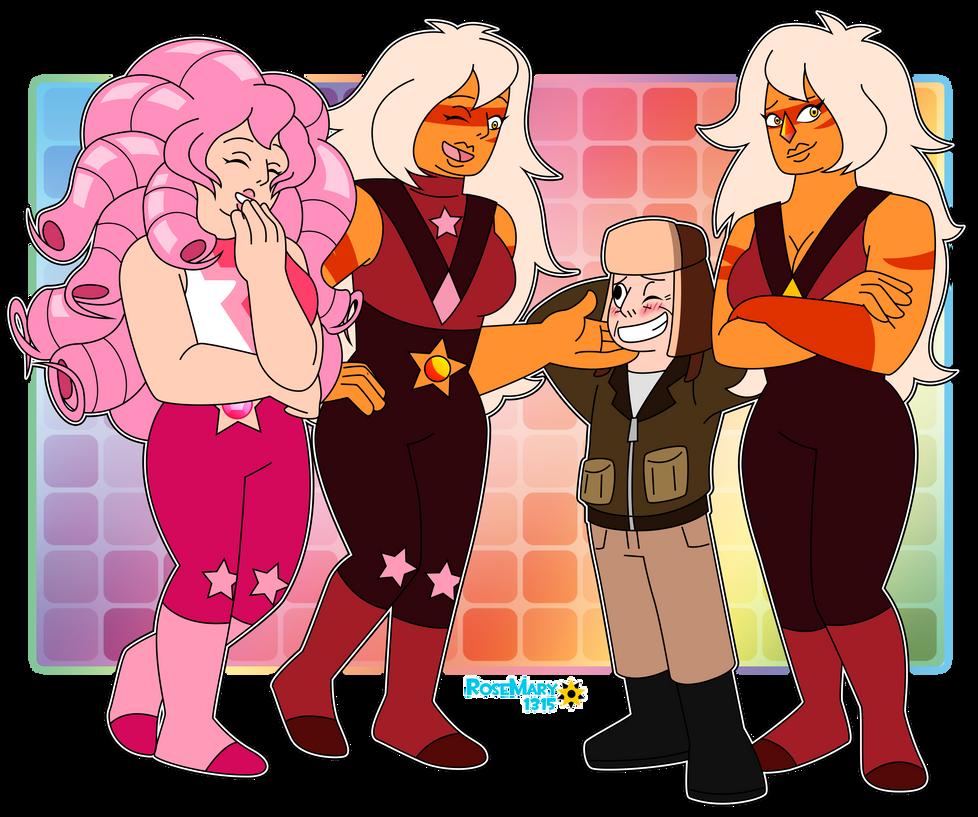 SU: Andy meet Gem ladies by RoseMary1315
