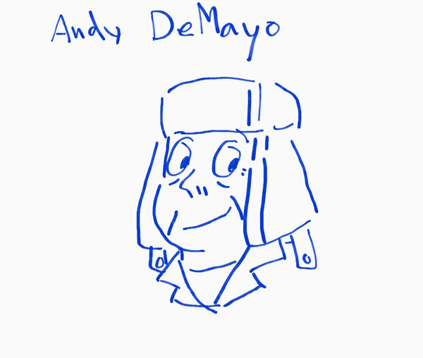 Andy DeMayo [Pen mouse test] by RoseMary1315
