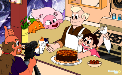 SU: Andy and Steven's Kitchen by RoseMary1315