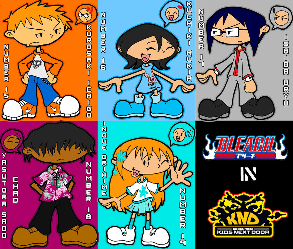 Bleach:KND Style by RoseMary1315