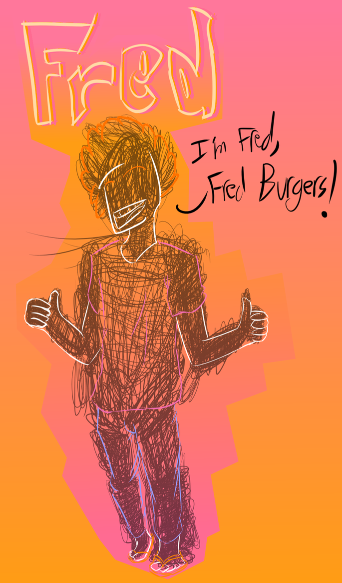 Fred, Fred Burgers by dissapointinglysad