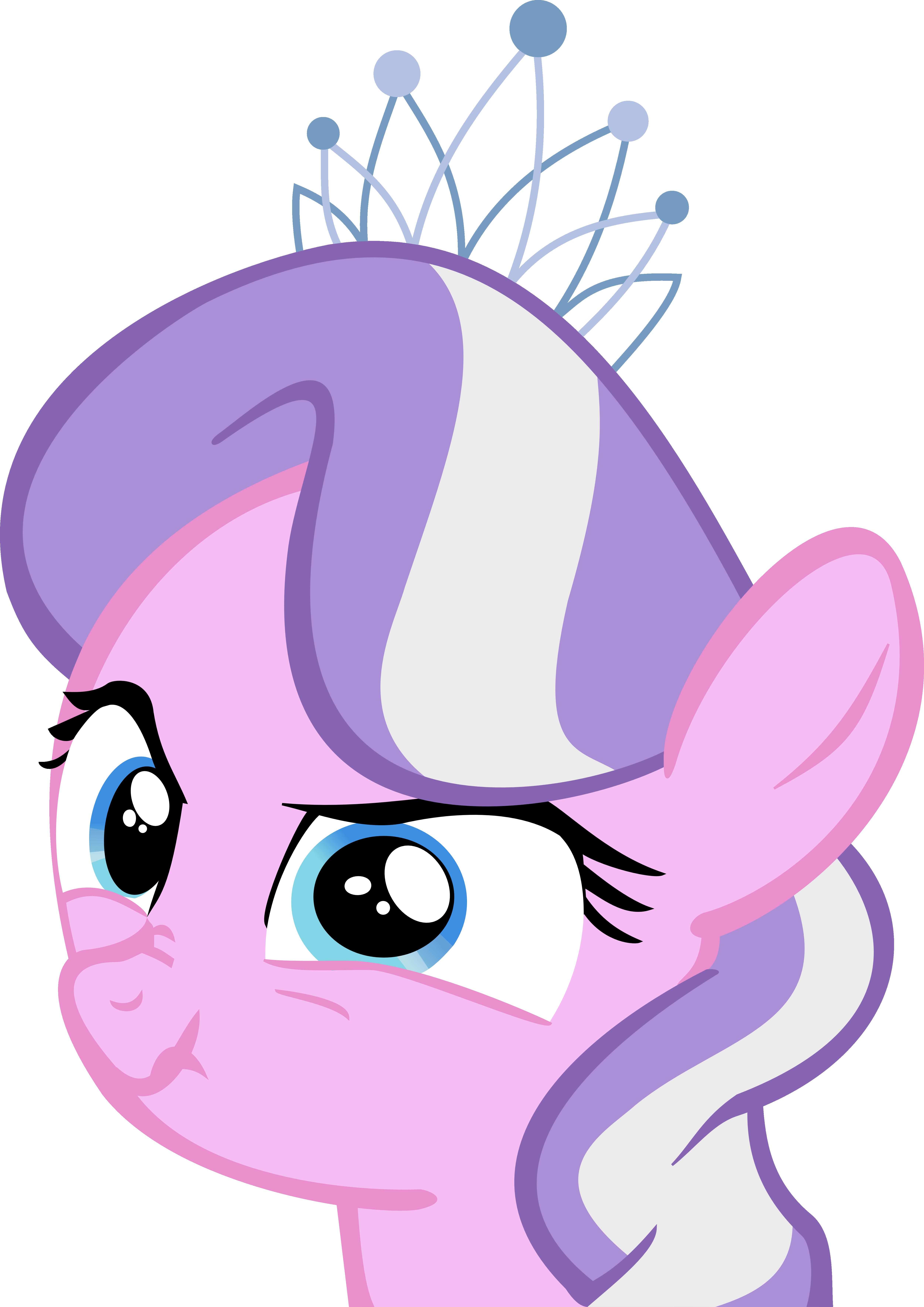 Diamond Tiara Scary Face by MetaTiara