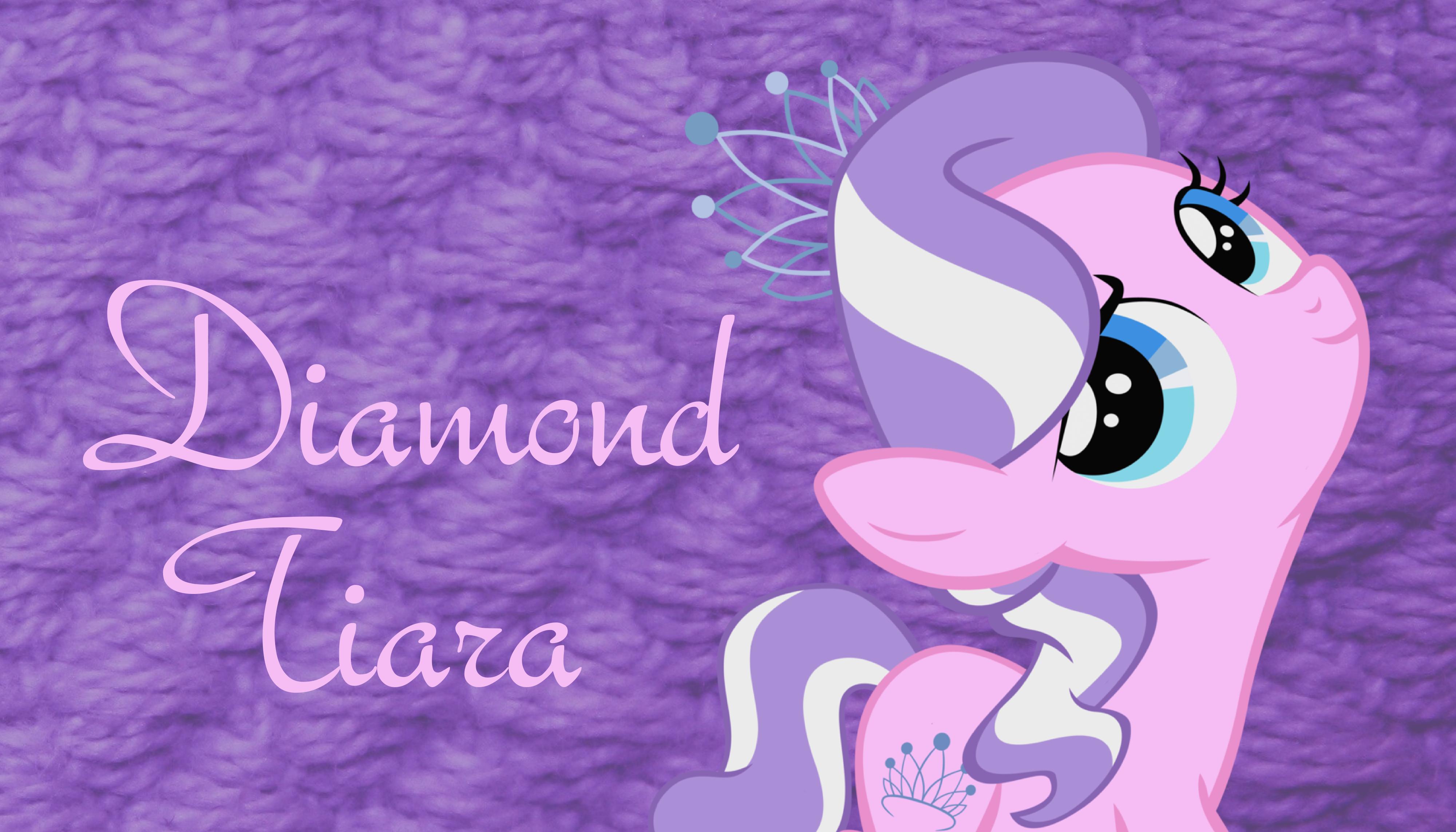Diamond Tiara Background by MetaTiara