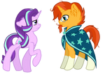 Starlight Glimmer and Sunburst