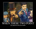 Professor Layton vs Ace Attorney -OBJECTION