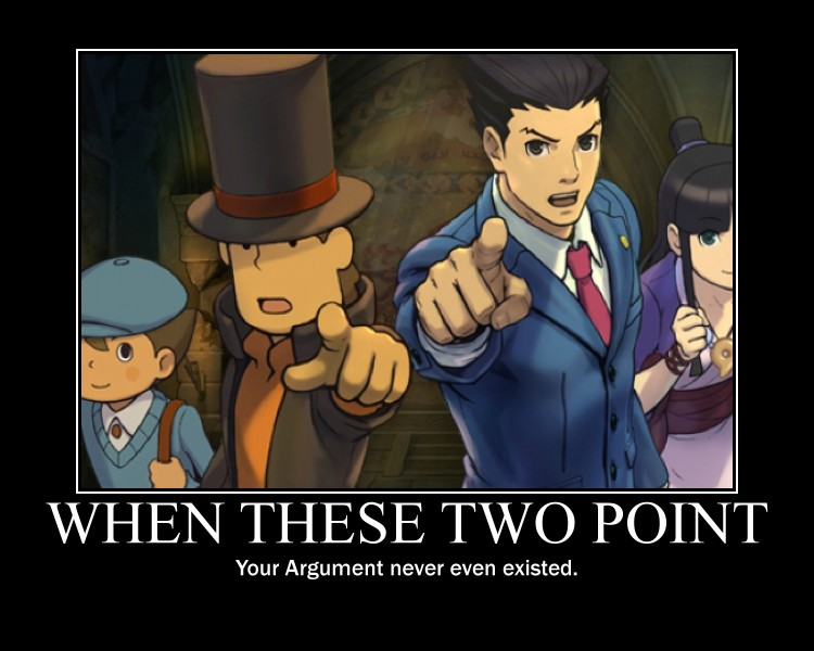 Professor Layton Vs Ace Attorney Objection By Emmyaltava1 On