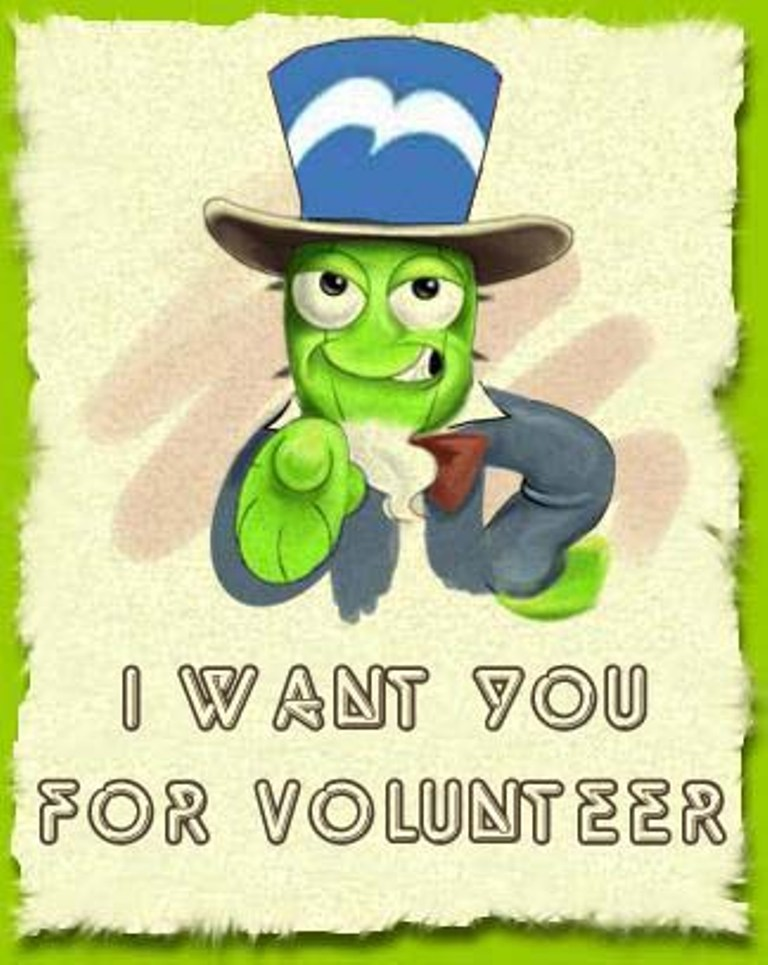 i want you to volunteer - photo #15