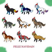 :Merry Christmas: by 4evermonicris