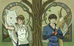 Ashitaka and San