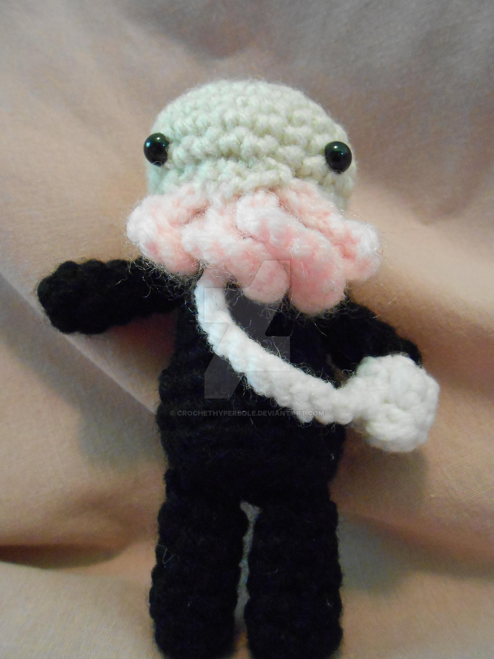 Doctor Who Ood Amigurumi by CrochetHyperbole