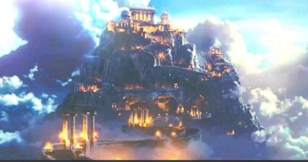 Mt. Olympus by Elven-Glade