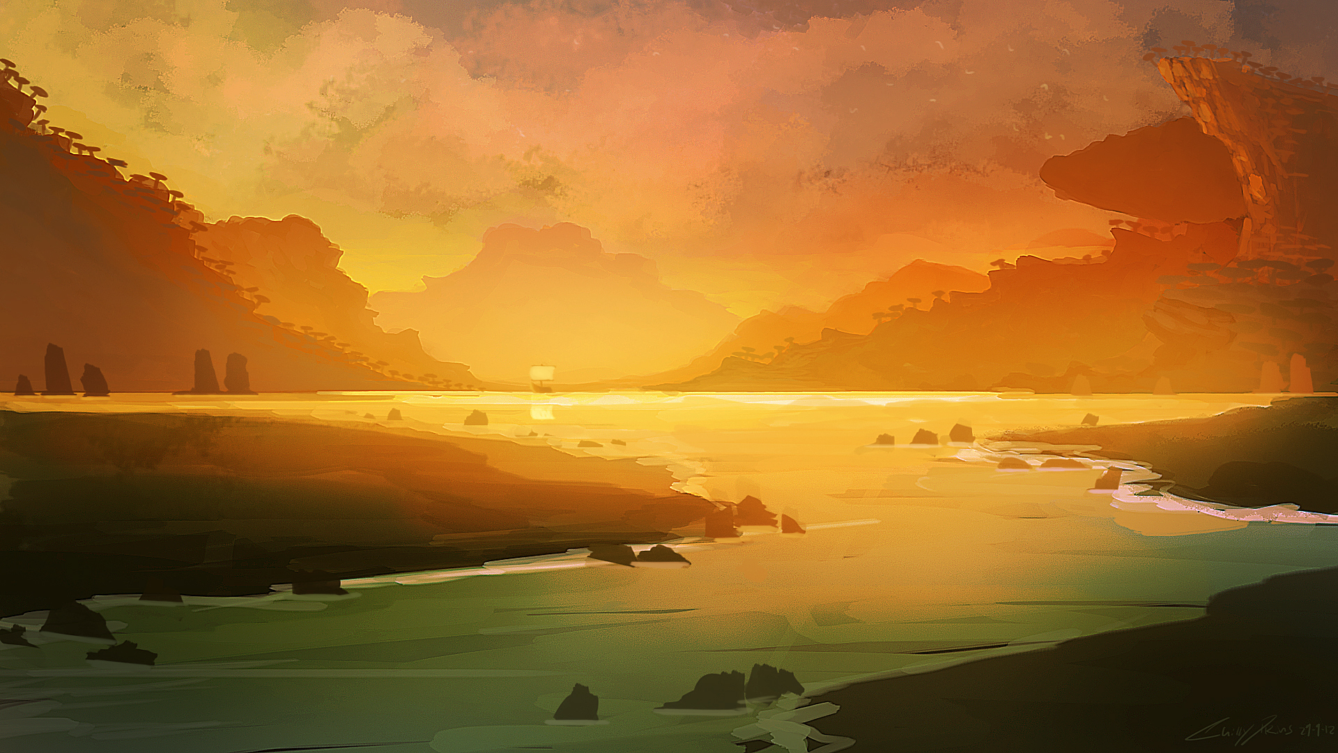wallpapers art painting - photo #23