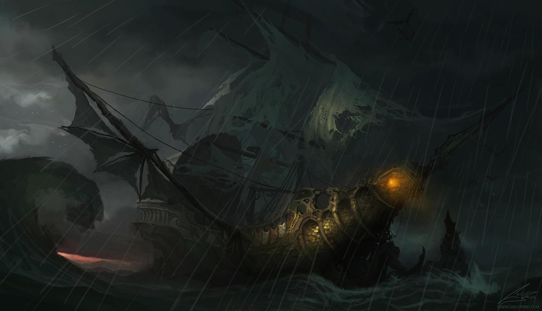 Sea Wraith by Chillay