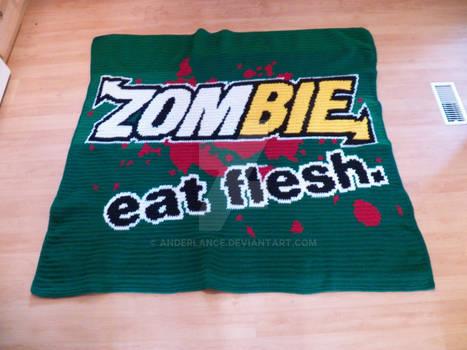 Zombie, eat flesh