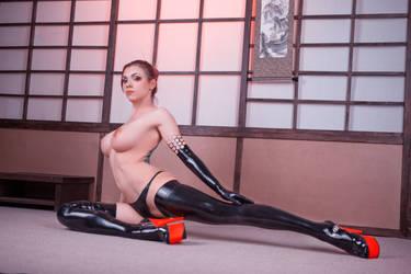 Cyberpunk Yakuza by octokuro