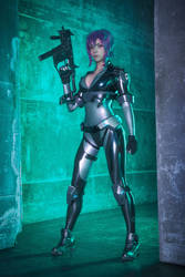 Motoko cosplay - Ghost in the shell