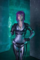 Motoko cosplay - Ghost in the shell by octokuro