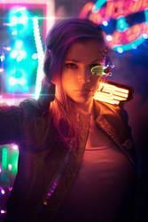 Cyberpunk 2077 by octokuro
