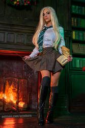 Slytherin cosplay