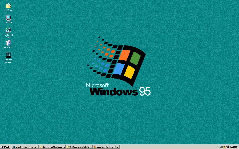 windows 95 logo wallpaper viewing gallery