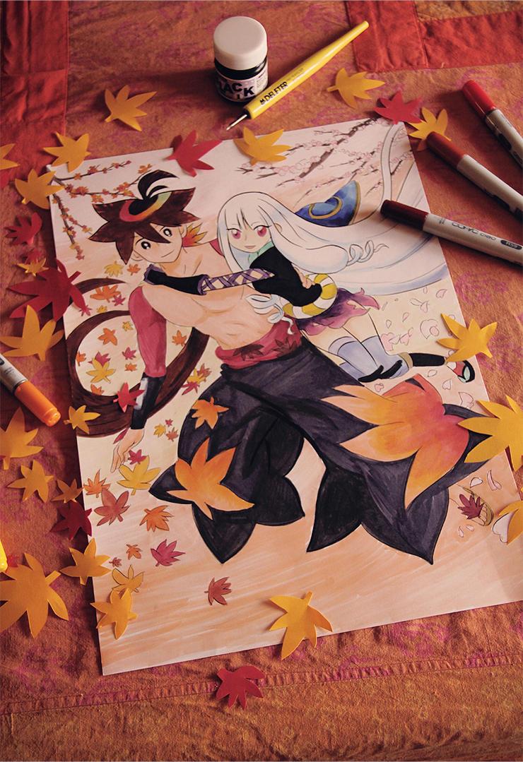 M a p l e L e a f: S h a d e s by YamatoTaichou