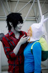 Adventure Time ~ Marshall Lee and Fionna